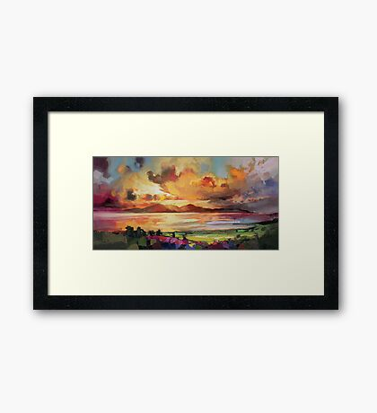 Arran Optimism Framed Print