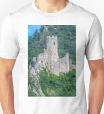 Medieval Castle Switzerland Burgen Castle Unisex T-Shirt