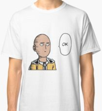 One punch man OK (coloured) Classic T-Shirt