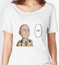 One punch man OK (coloured) Women's Relaxed Fit T-Shirt
