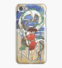 Chihiro and Haku iPhone Case/Skin