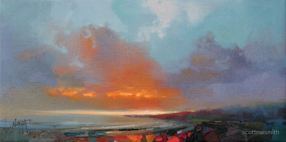 Tiree Sunset by scottnaismith