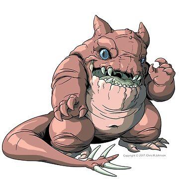 "Kaiju GLUTTONOUS Monster ""Shirts"" by CMJTOYS"