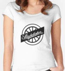 Studebaker Automobile Company Logo Women's Fitted Scoop T-Shirt