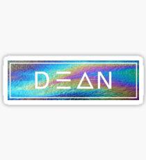Dean  Sticker