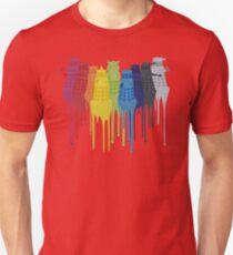 Dalek Extermination Rainbow Unisex T-Shirt