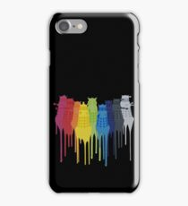 Dalek Extermination Rainbow iPhone Case/Skin