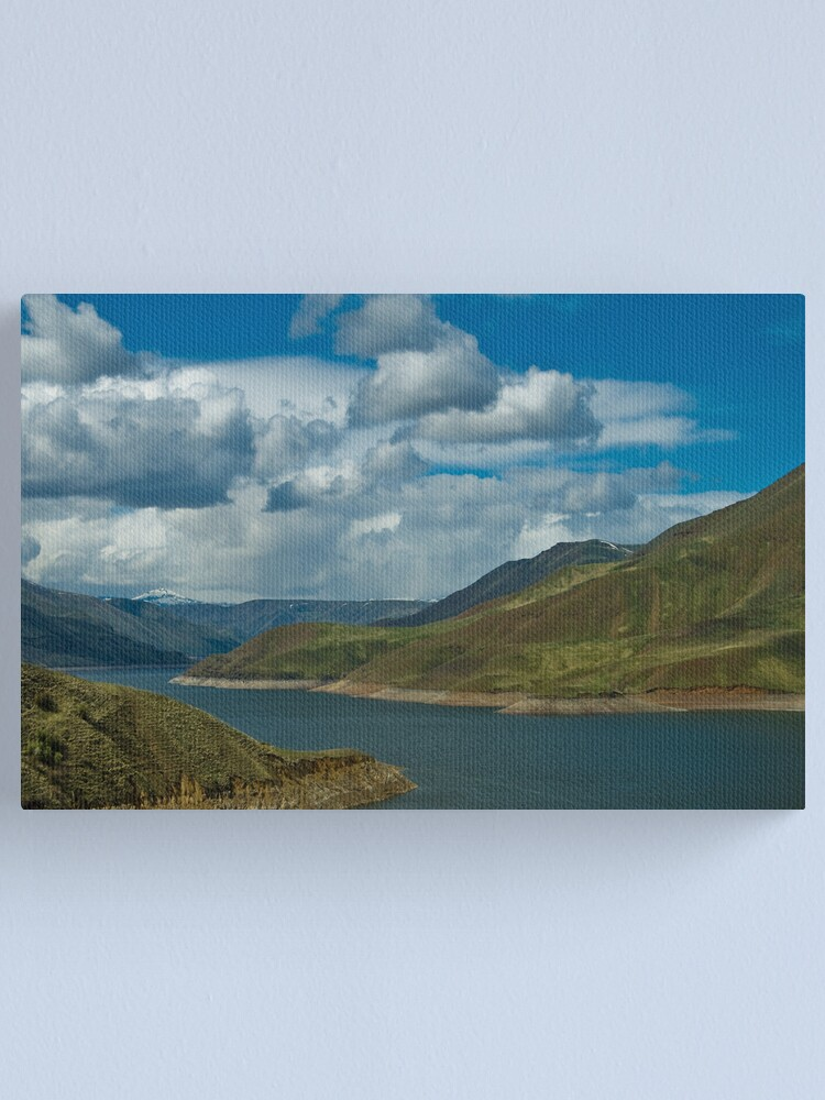 Alternate view of Filling Hell's Canyon  Canvas Print