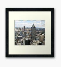 Atlanta Aerial View (Day Time)  Framed Print