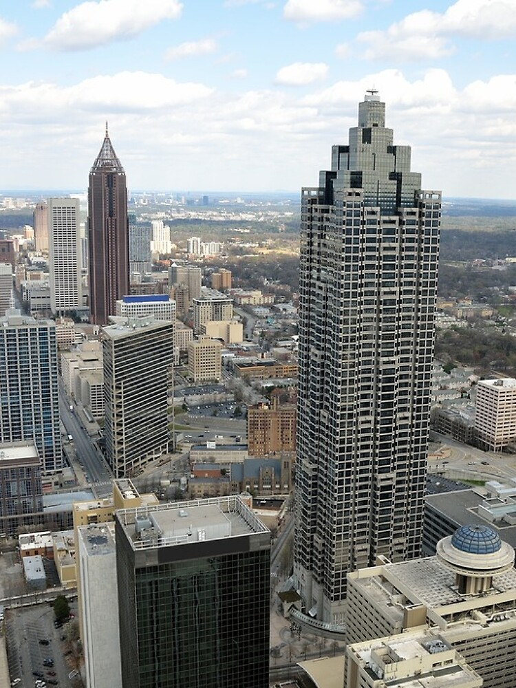 Atlanta Aerial View (Day Time)  by prodesigner2