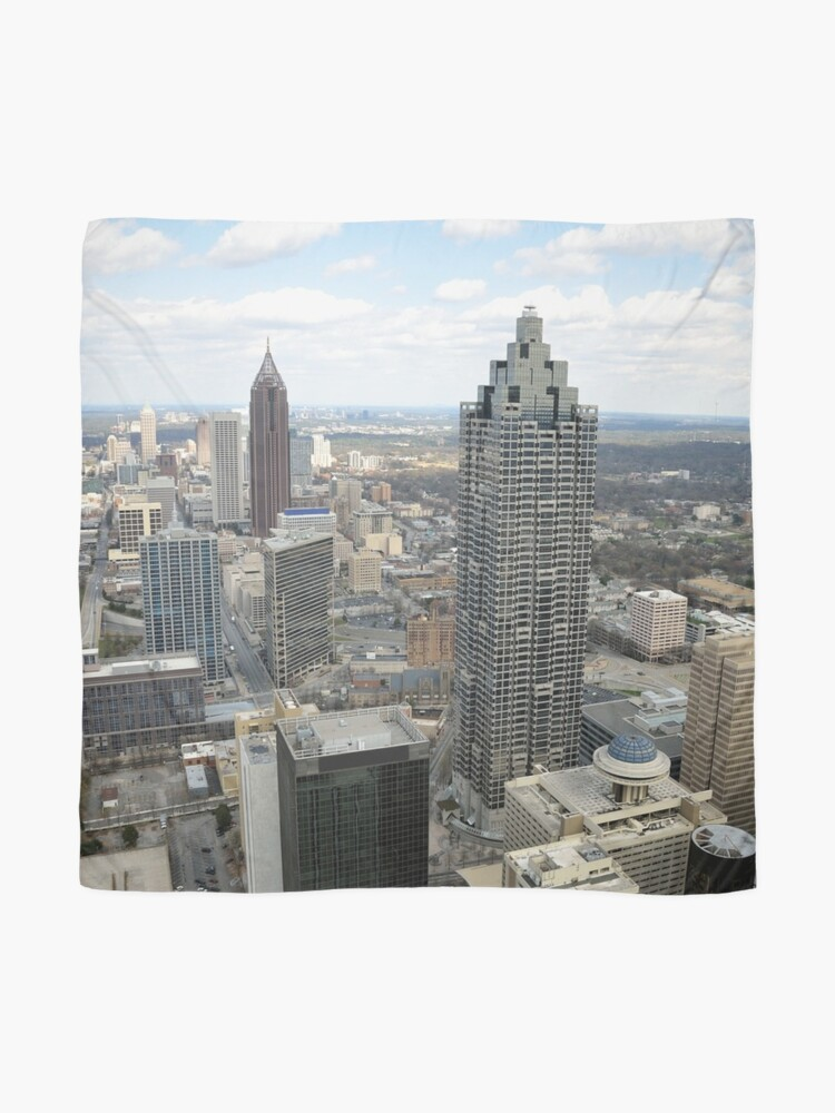 Alternate view of Atlanta Aerial View (Day Time)  Scarf