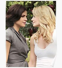 Swanqueen Once Upon a Time Poster