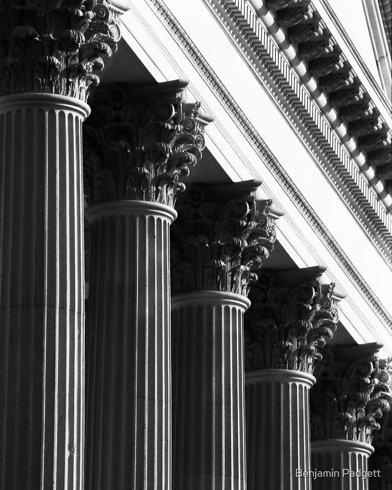 Customs House Columns No. 1 by Benjamin Padgett