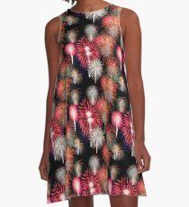Fireworks A-Line Dress