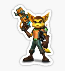 Ratchet and Clank Sticker