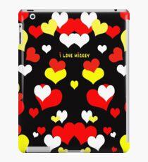 I Love Mickey iPad Case/Skin