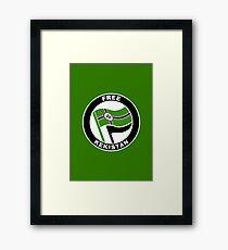 FREE KEKISTAN FLAG Framed Print