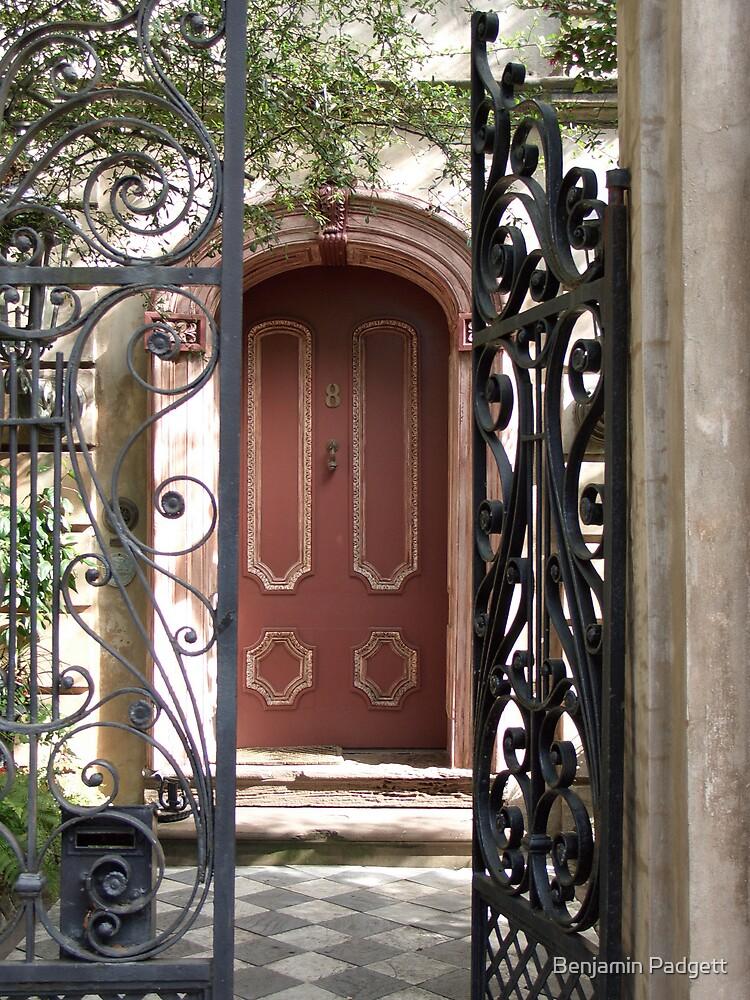 Charleston Door & Iron Gate by Benjamin Padgett