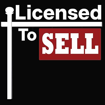 Licensed to Sell- Real Estate by embedesignco