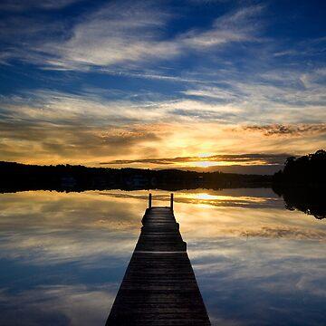 Blackalls Park Sunrise by Snelvis