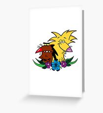 The Angry Beavers Greeting Card
