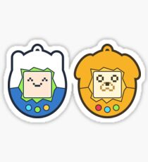 Tamago Chibi Finn & Jake Sticker