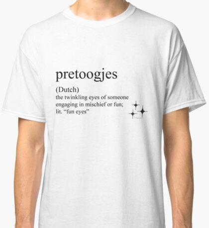 Pretoogjes (Dutch) statement tees & saccessories Classic T-Shirt