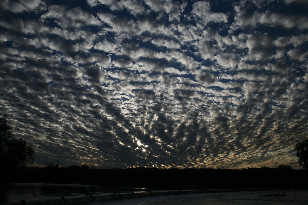 Mackerel Sky by curlykat