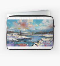 Glenspean Snow 1 Laptop Sleeve