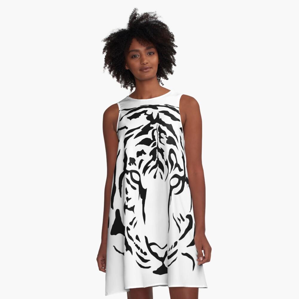 El vestido negro los tigres
