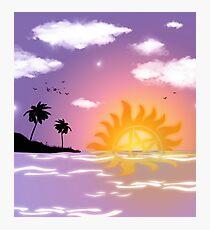 Supernatural Sunset Photographic Print