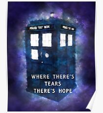 Where There's Tears There's Hope Poster
