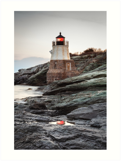 Castle Hill Lighthouse by Joshua McDonough Photography