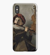 Boy Playing the Flute 1630 Judith Leyster iPhone Case/Skin