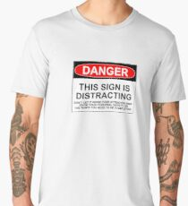 DISTRACTING SIGN Men's Premium T-Shirt