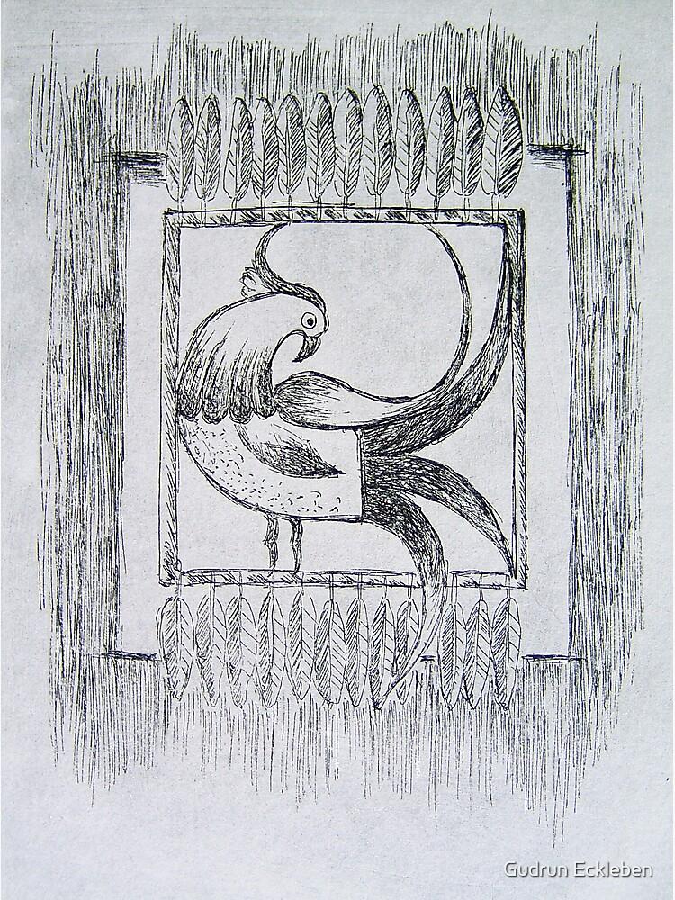 Mirrored Paradise Bird by gudders