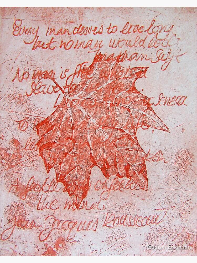 Leafy Wisdom (I) by gudders