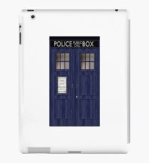 Doctor Who Police Box iPad Case/Skin