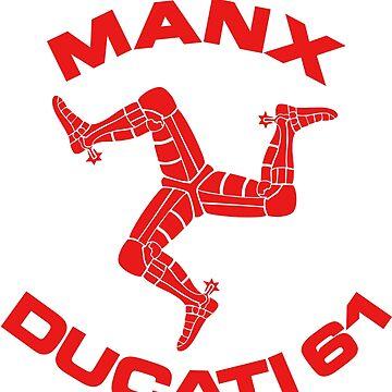 Manx Ducati 61 by wolfman57