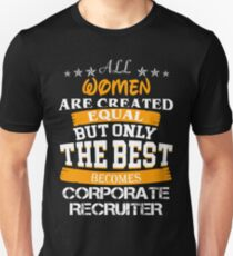 CORPORATE RECRUITER BEST COLLECTION 2017 Unisex T-Shirt