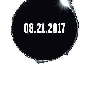 2017 Solar Eclipse T-Shirt by jgmorga3