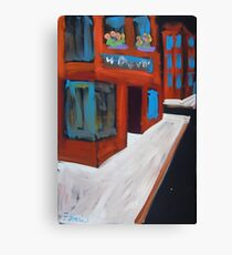 MacDougal Street Greenwich Village Canvas Print