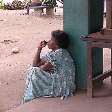 woman vanuatu by grazgar