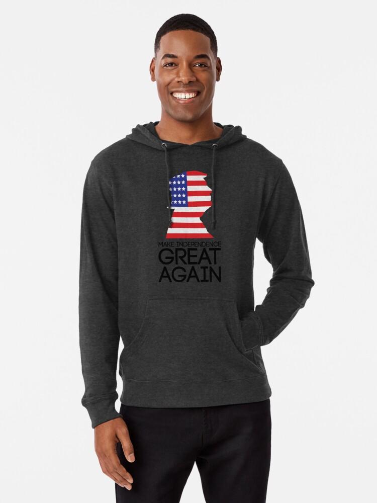 Make Thanksgiving Great Again Donald Trump Turkey Adult Hooded Sweatshirt