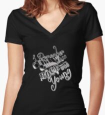 I remember when.... Fitted V-Neck T-Shirt