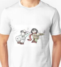 Mikasa and Levi - Ackerman Style! Unisex T-Shirt