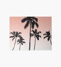 Sunset palms Art Board