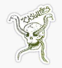 The casualties punk snakes Sticker