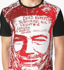 Dead kennedys face Graphic T-Shirt
