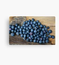 blueberrys Canvas Print